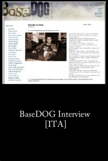 BaseDog Interview (2006) [ITA]