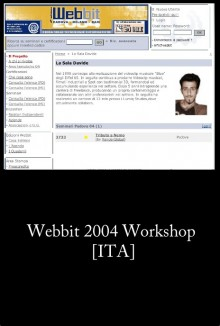 Webbit 2004 Workshop [ITA]